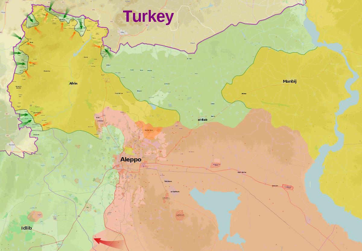 A Afrin, l'espoir sous les bombes